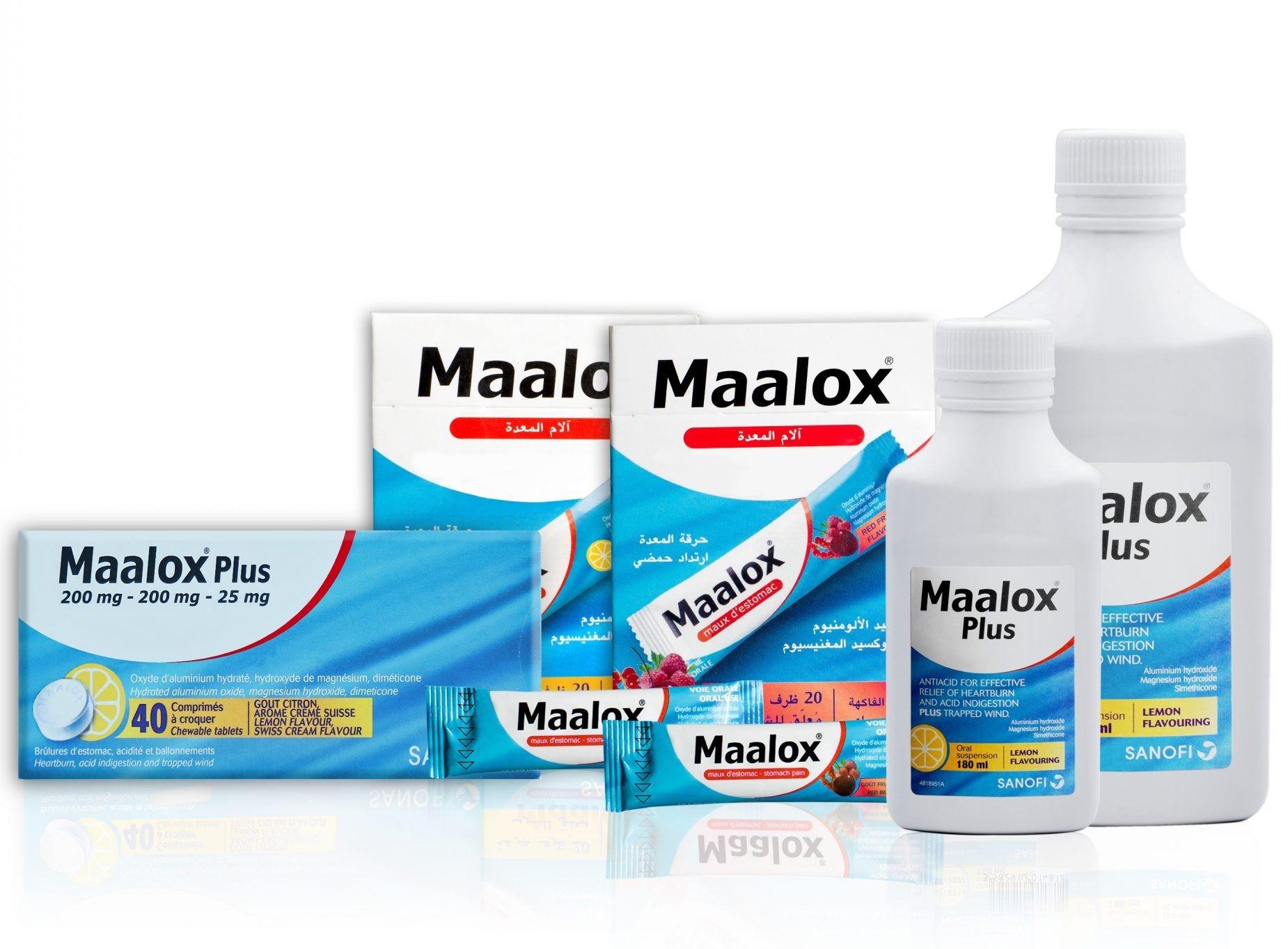 مضادات الحموضة مالوكس