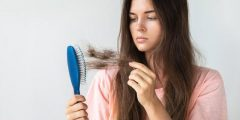علاج تساقط الشعر عند النساء